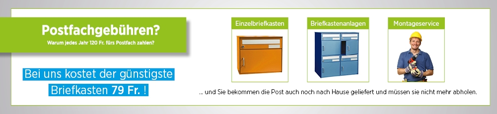 Briefkastendirekt.ch Aktionen
