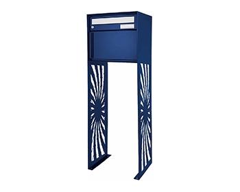 Design Briefkasten Sonne Freistehend