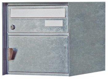 Briefkasten Visp verzinkt Freistehend / Sockelmontage von Huber