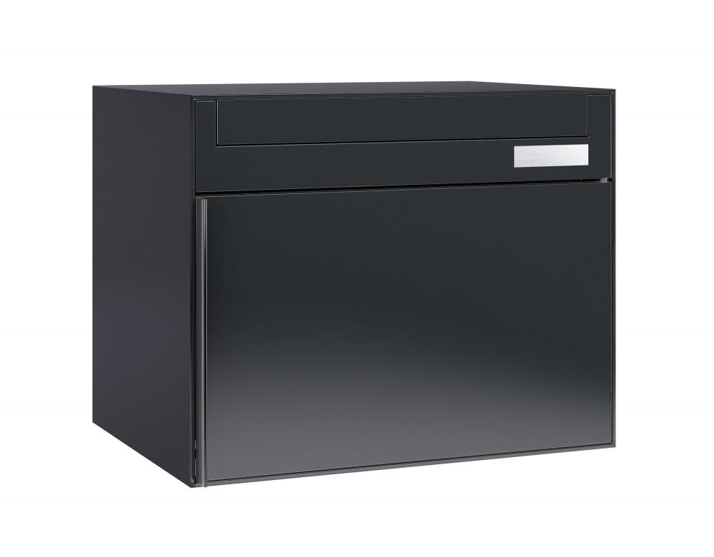 stebler briefkasten 99b ral 7016 anthrazit ganzfl chig. Black Bedroom Furniture Sets. Home Design Ideas