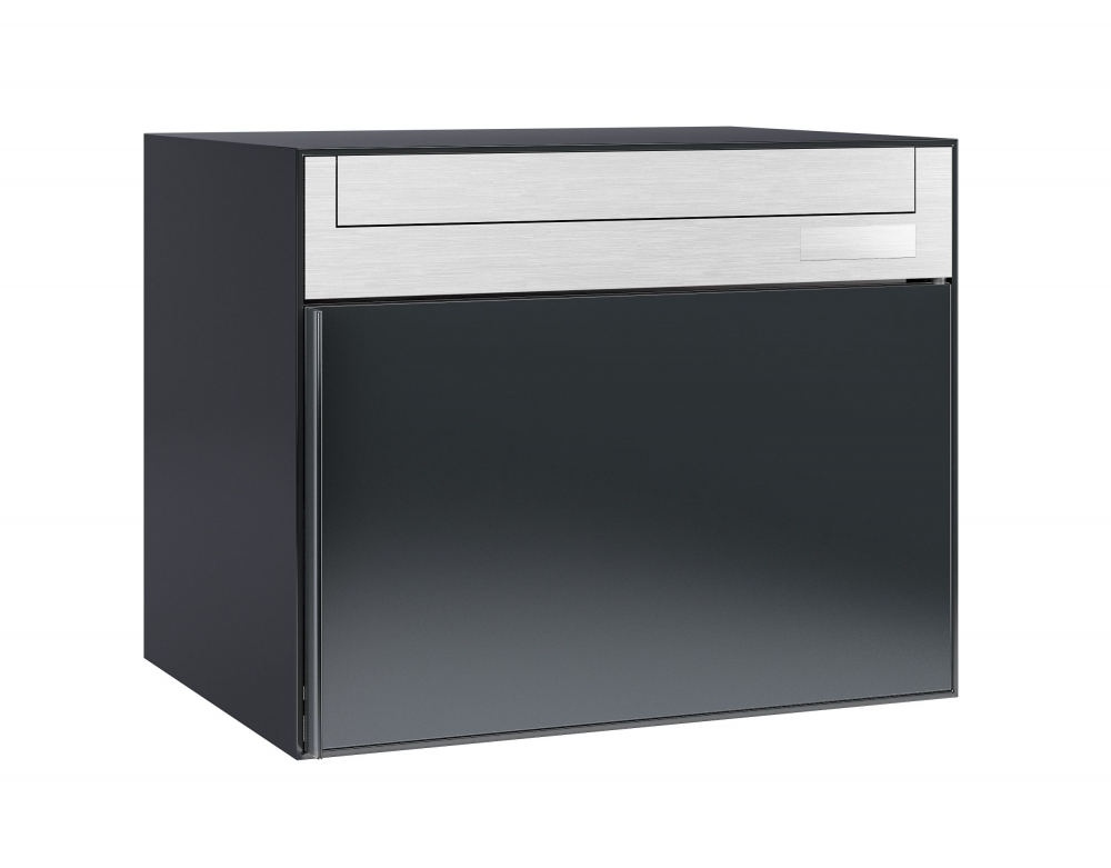 stebler briefkasten 99b 7016 anthrazit f r die wandmontage ch norm. Black Bedroom Furniture Sets. Home Design Ideas
