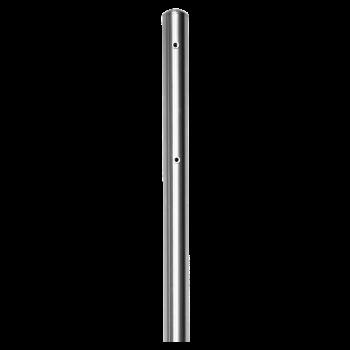 Seitenstützen Paar Chromstahl rund 150 cm von Huber