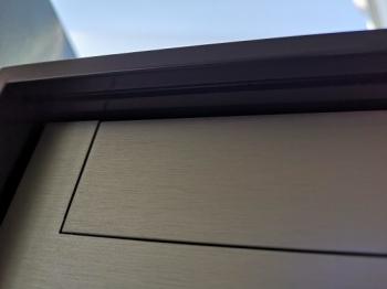 Stebler Briefkasten 99b Z8 VR Q, RAL 7016 Anthrazit Freistehend