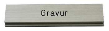 Gravurschild / Briefkastenschild für Stebler Modell 99b Z8 VR und 75F Briefkasten