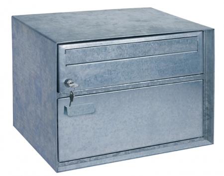 Swiss Mailbox Distel, verzinkt-natur von Rottner Tresor