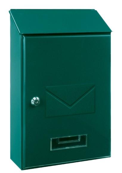 Briefkasten Pisa grün von Rottner Tresor