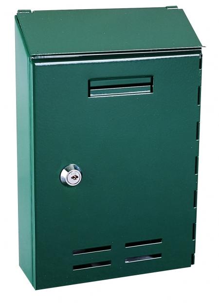Briefkasten Standard, grün von Rottner Tresor