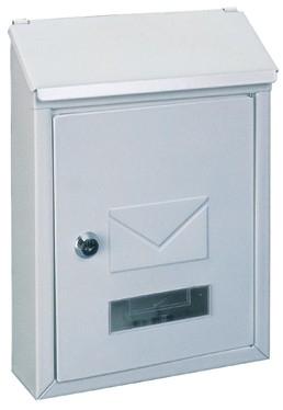 Briefkasten Udine, weiss von Rottner Tresor