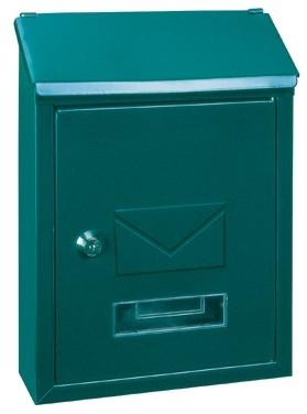 Briefkasten Udine grün von Rottner Tresor