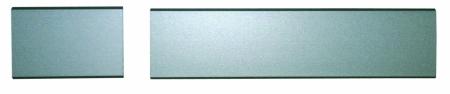 Namensschild 30x20 mm ohne Gravur für Planetstar Briefkasten