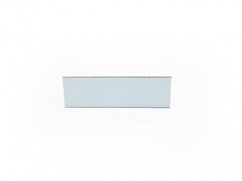 Gravurschild / Briefkastenschild selbstklebend weiss 80x25 mm