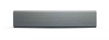 Schweizer Gravurschild / Briefkastenschild 105 x 14.5 mm Aluminium natur für Briefkasten