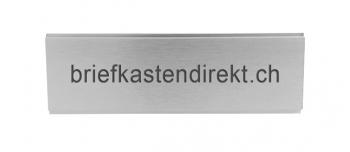 Marchi Briefkastenschild 84.5 x 24 mm Alu