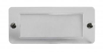 Feller transparente Sichtscheibe für Klingel 57x25 mm, Schraube 2.6 mm