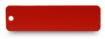 Schlüsselanhänger graviert rot