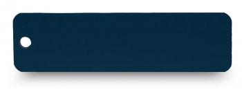 Schlüsselanhänger graviert blau