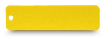 Schlüsselanhänger graviert gelb