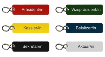 Schlüsselanhänger Set für Verein graviert