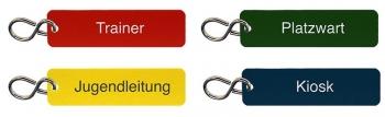 Schlüsselanhänger Set für Fussballclub graviert