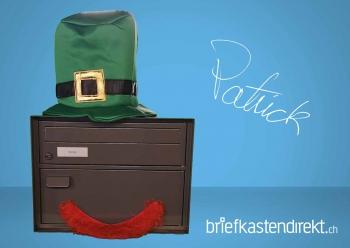 Briefkasten Patrick, anthrazit von Rottner